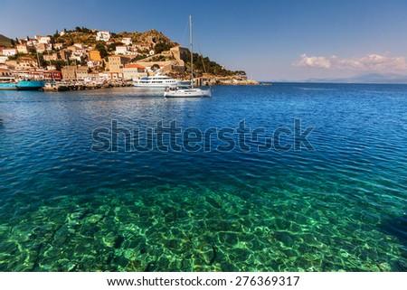 Hydra Island, Greece - stock photo