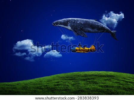 i believe i can fly - stock photo
