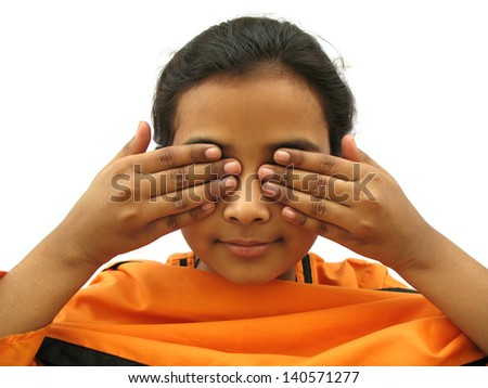 I don't want to see you - stock photo