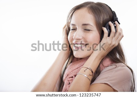 I love this song! - stock photo