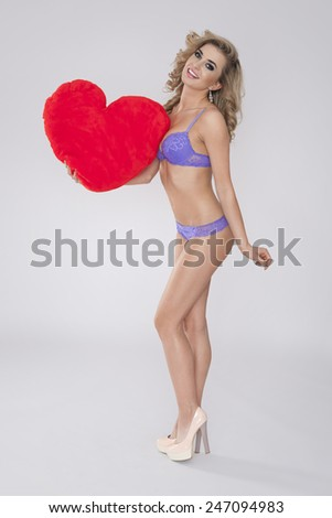 I love you baby so much! - stock photo