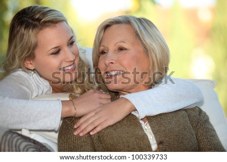 I love you mommy - stock photo