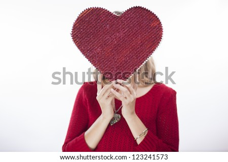 I'm in love! - stock photo