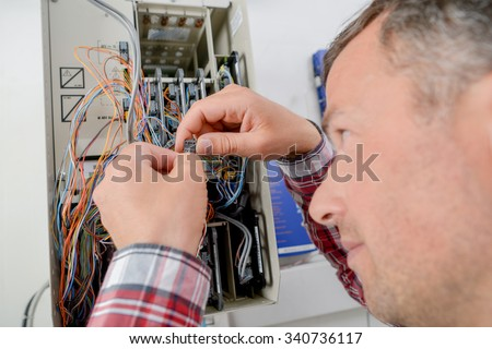 I think this fuse is blown - stock photo