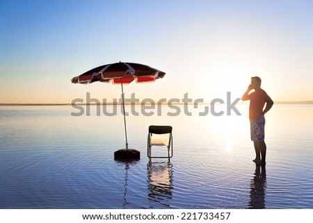 I won't be working for a while - stock photo