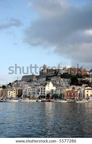Ibiza Town - stock photo
