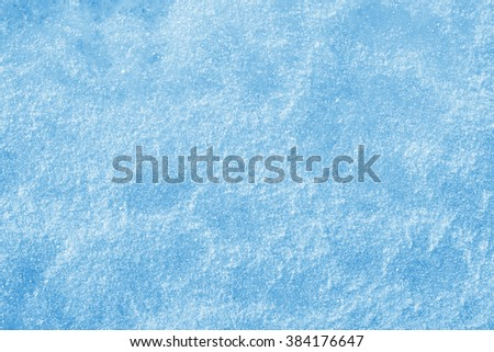 ice and snow background texture blue - stock photo