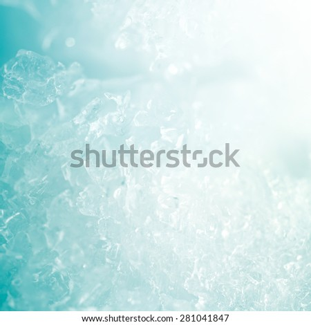 ice backgroun - stock photo