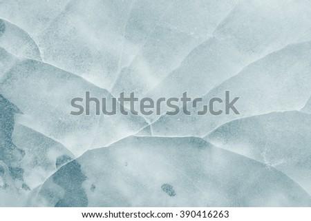 ice background texture - stock photo