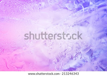 ice backgrounds,two tone - stock photo