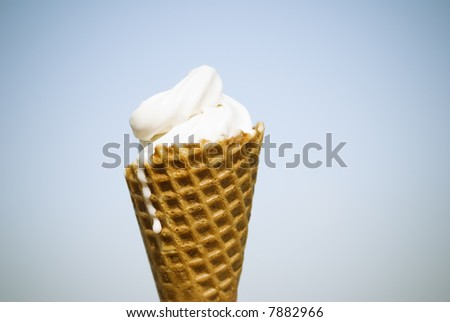ice-cream - stock photo