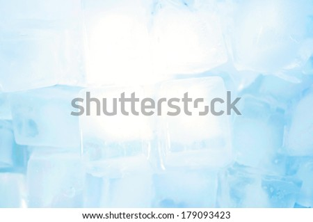 ice cubes backgrounds - stock photo