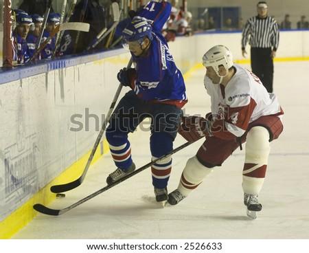 Ice Hockey. Frame #214 - stock photo