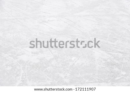 Ice rink floor, detail of a textured background ice, sport - stock photo