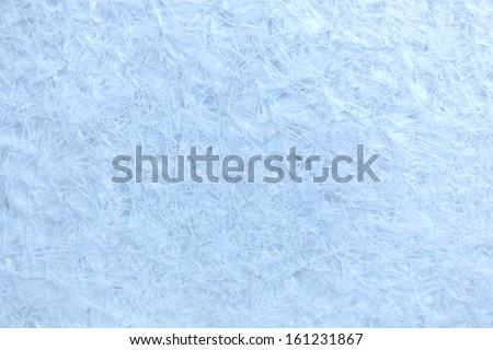 Ice textured background - stock photo