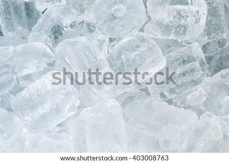 Ice tube background, cold  - stock photo