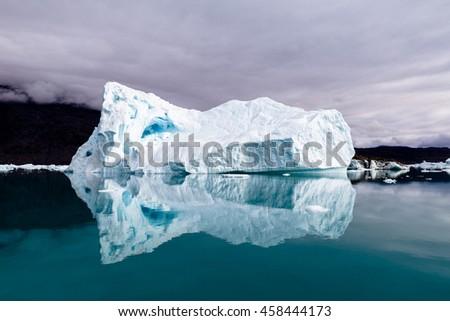 Iceberg, Greenland - stock photo
