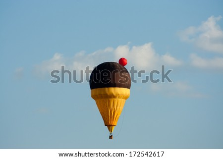 Icecream balloon - stock photo
