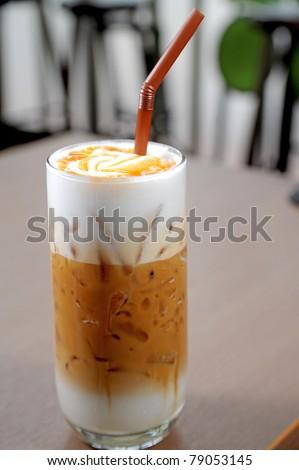 Iced Coffee - stock photo