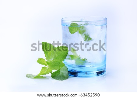 Iced drink - stock photo