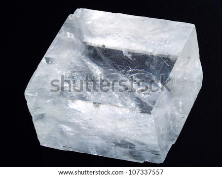 Iceland spar - stock photo