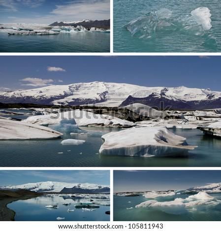Icelandic Ice - stock photo