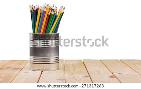 Icon, pencil, social. - stock photo