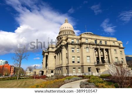 Idaho State capital - stock photo