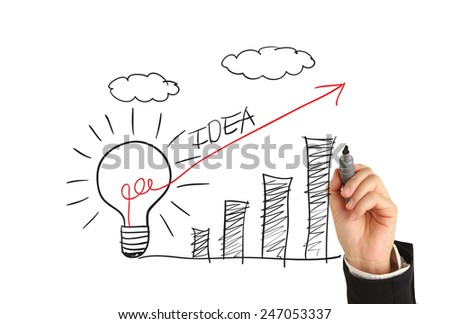 Idea concept - stock photo