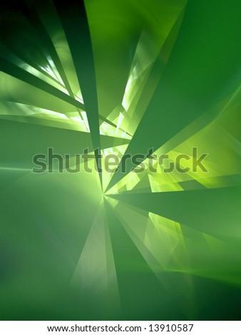 Idea Explosion -fractal design - stock photo