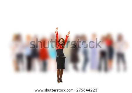Idea Symbol To Stand Out  - stock photo