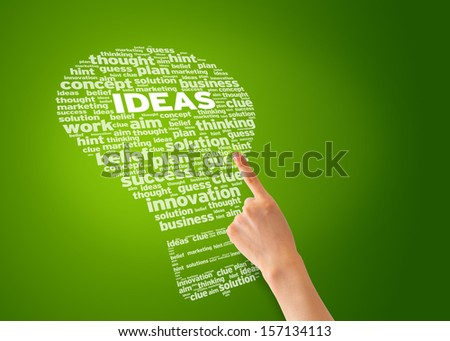 Ideas - stock photo
