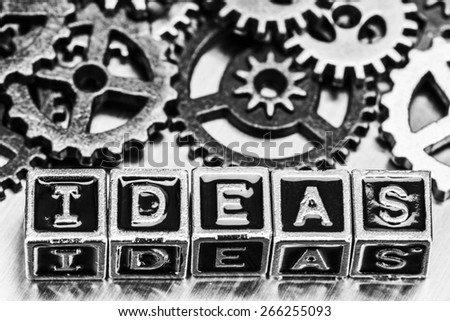 Ideas concept - stock photo