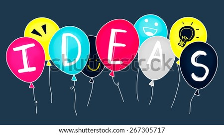 Ideas Thinking Concept Inspiration Creativity Concept - stock photo