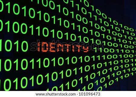 Identity - stock photo