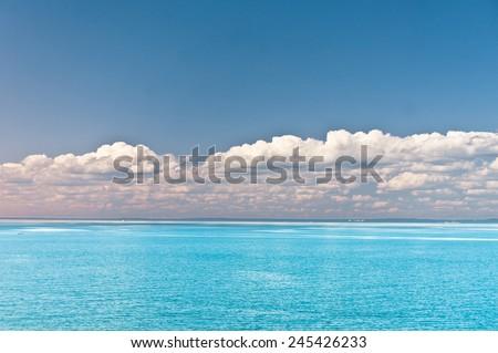Idyllic View On a Sunny Day  - stock photo