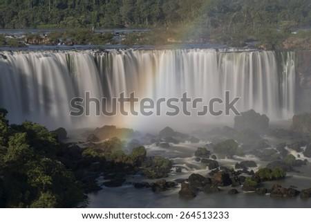 Iguacu Falls, Brazil - National Park - stock photo