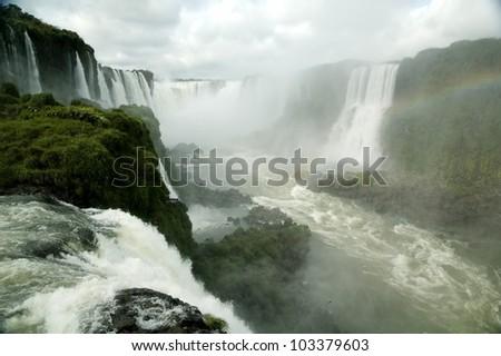 Iguasu Falls - stock photo
