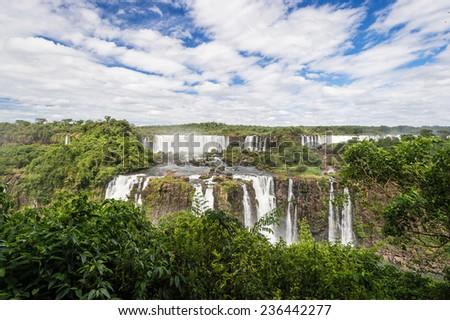 Iguazu falls, Brazil  - stock photo