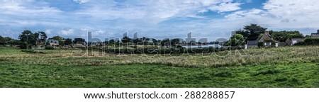 Ile de Brehat - stock photo