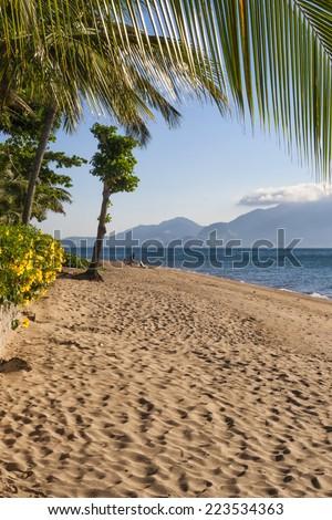 Ilhabela, tropical paradise Brazil - stock photo