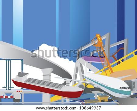 illustration - stock photo