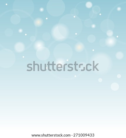 Illustration abstract background with transparent circles - raster - stock photo