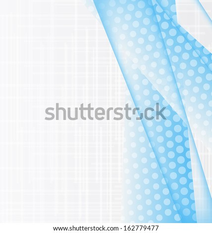 Illustration abstract blue water background, design template - raster  - stock photo