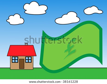 illustration metaphor of time to buy - stock photo