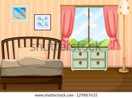 cartoon bedroom stock photos images pictures shutterstock