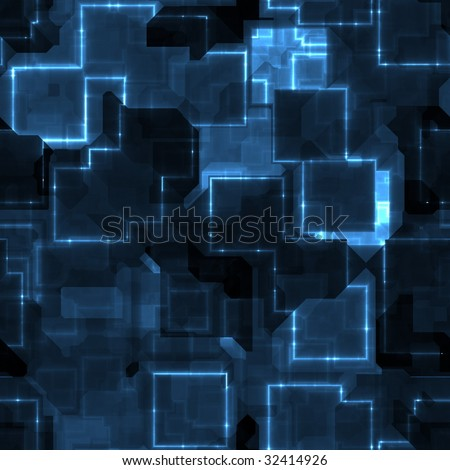 illustration of circuitry chips that can be seamlessly tiled - stock photo