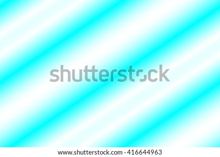 Illustration of cyan blue and white stripes - stock photo