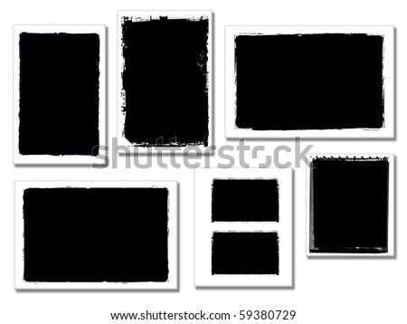 illustration of frame Photo you can insert your image - stock photo