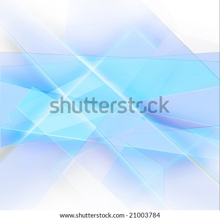 Illustration of game of light is in the verges of diamond, and also fragments of glass. - stock photo